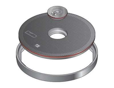 148 1 - Tapa de arqueta de 900 mm. mod. FL90 CF