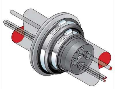 309 1 - Prensaestopa en kit para cables eléctricos