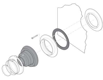 310 1 - Prensaestopa para tuberías de doble pared