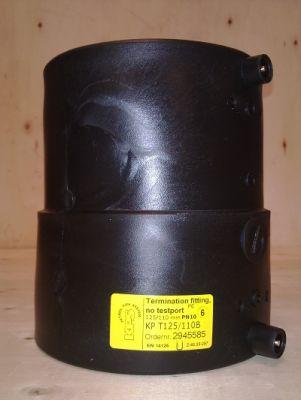 444 1 - Manguito cierre doble contenimineto sin válvula 125/110 mm.