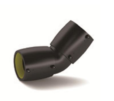455 1 - Codo de 45º de 110-90-63mm