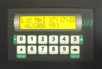4 1 - Sistema de control ALX 308