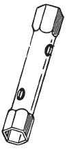 EW19 22 - Llave de tubo EF-EW19/22  EF-EW27/32