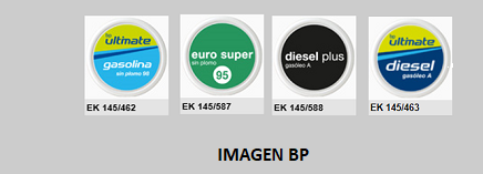 IMAGENBO - Chapas identificativas EF-EK145