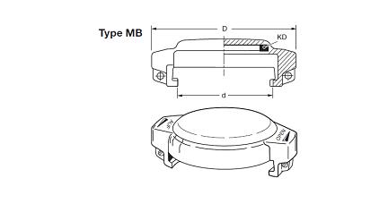 MB - Boca de carga EF-MB AL + EF-VK + EF-K