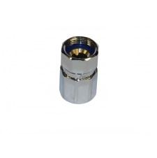 RACORCR 1 - Racor desmontable cromado EF-Mxx Cr hembra