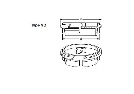 VB - Boca de carga EF-VB + EF-MK + EF-K