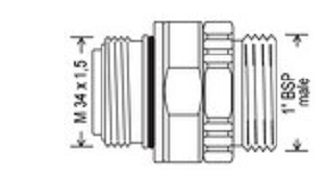 EA075 1 - Rótula giratoria EF-EA075