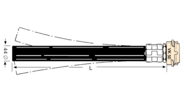 ZR32FLEX 600x316 - Tubo con acoplamiento EF-ZR32 FLEX
