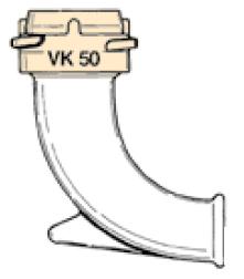 ZRK30 - Tubo codo con acoplamiento EF-ZRK30