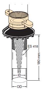 ZRS38 - Tubo con acoplamiento EF-ZRS38