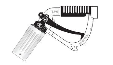 gases - Protector plástico EF-EK724
