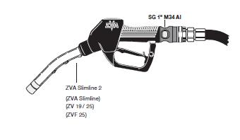 """pistolam34 - Visor EF-SG1"""" M34 AL"""