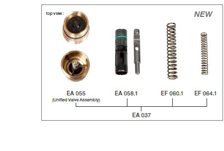 EA037 - Conjunto válvula EF-EA037