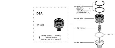 EA052DSAN - Conjunto EF-EA052 DSA