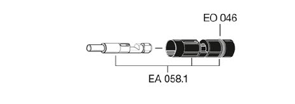 EA058.1 - Conjunto émbolo EF-EA058.1