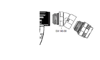 EA140.3 - Codo giratorio EF-EA140.30