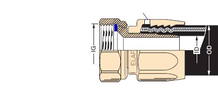 RACORM2 - Racor desmontable LPG EF-Mxx-30 hembra