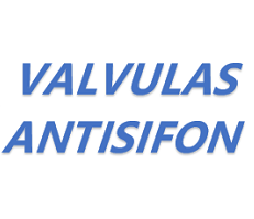 Válvulas antisifón