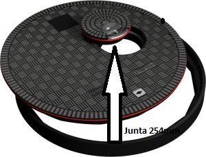 FL100 OD 300x229junta - Junta tapa FB-FC254/BLACK