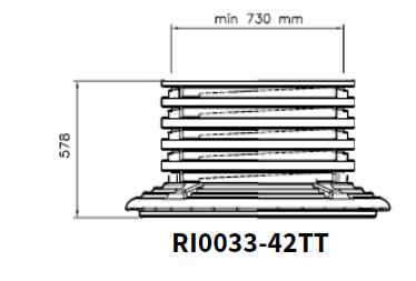 REALCE1 - Realce arqueta tanque mod. TCI, TC-RI0033-42
