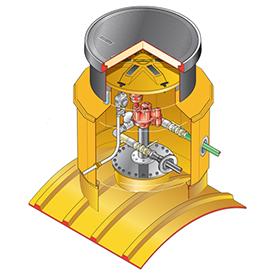 arquetaredonda - Sistema de arqueta sobre tanque FB-S14-3100