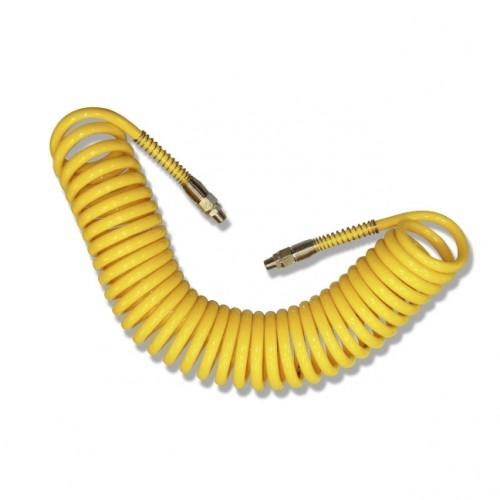 manguera amarilla - Manguera en espiral