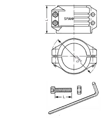 SPANLOOC 1 - Racor spanloc EF-MC